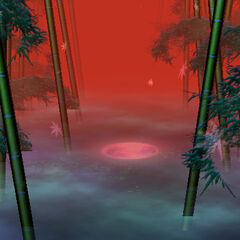 El Bosque de Bambú en <a href=