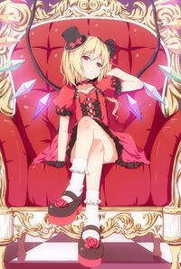 Flandre Scarlet is the boss