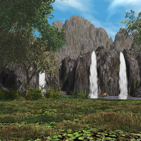 Barranco Genbu, como se ve en <a href=