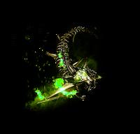 Enemy-Kunai-Green
