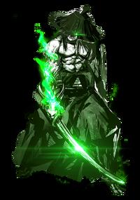 Enemy-Uchigatana-Green