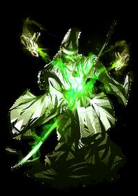 Enemy-Naginata-Green