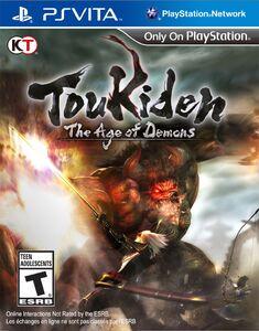 Box Art-Toukiden The Age of Demons PSVita NA