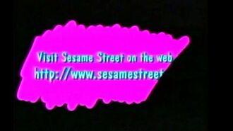 Visit Sesame Street On The Web At www Dot Sesame Street Dot Com 2000
