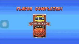 Bush's bean dash gameplay