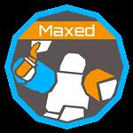 MaxedBadge