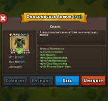Dragonscale Armor Status Max