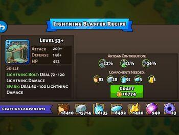 Lightning Blaster recipe