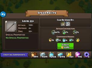 Spear recipe