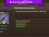 Blade of Wonder