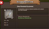 Sharp Falshin Status Special