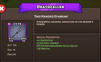Deathcaller version Halloween