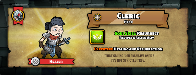 Hero of the day cleric