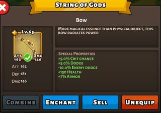 String of God Status Max