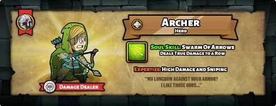Hero of the day archer