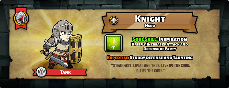 Hero of the day knight