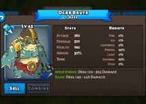 Ogre Brute Status Max