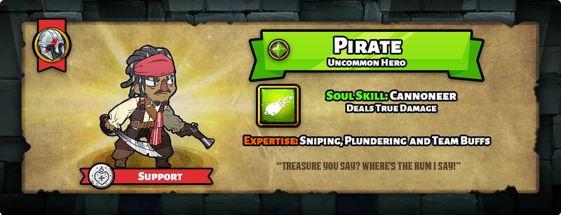 Hero of the day pirate