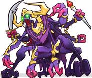 Pac-Man Monsters - Demon Druaga Raid