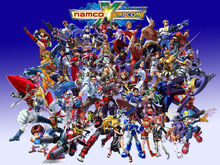 Namco x capcom wallpaper