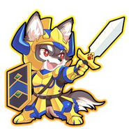 Sengoku Puzzle Animal Daikassen - Gil