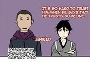 Leesso and hatsu annoyed
