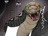 Ancient Odd Eyed Cobra