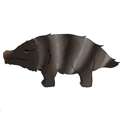 Striped Ground Pig