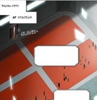 Train city stadium