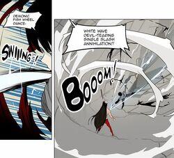 Demonic Fish Wheel Dance - White Wave Demonic Explosion (2)