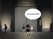 Elevator exit 13