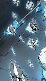 Crystal shards