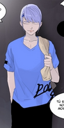 Koon in T-shirt