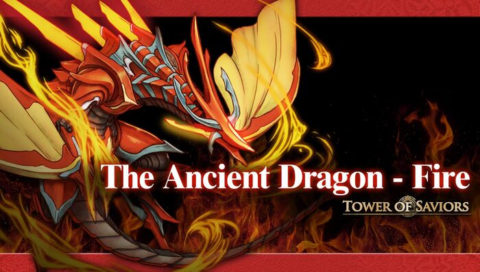 The Ancient Dragon - Fire