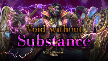 Void without Substance