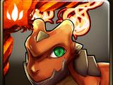 Fiery Wall