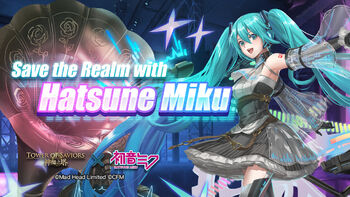 Save the Realm with Hatsune Miku