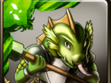 Emerald Lizard Warrior