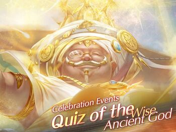 Quiz of the Wise Ancient God