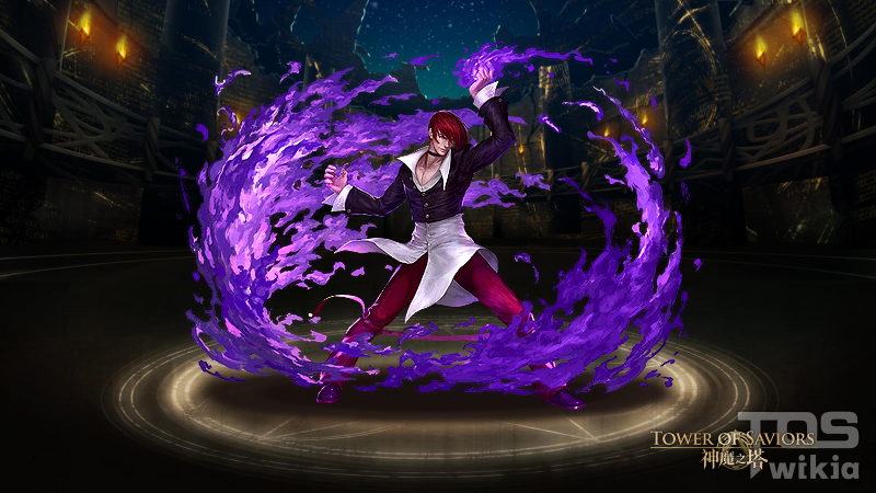 crescent of tainted flame iori yagami tower of saviors wiki