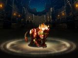 Advanced Metallic Lion