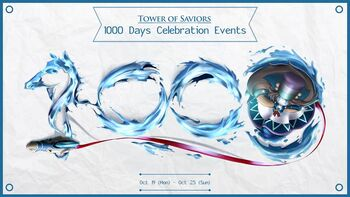 TOS's 1000 Days Celebration Events