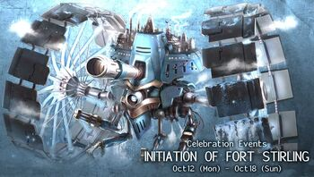 Initiation of Fort Stirling