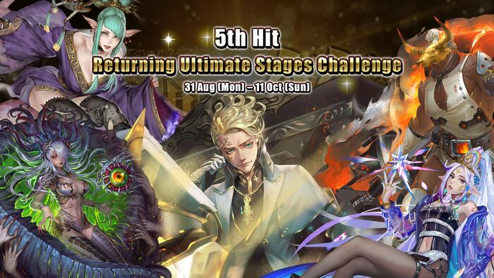 Returning Ultimate Stages Challenge