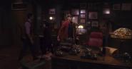 Cornelius's office desk