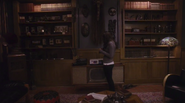 Cornelius's office TV