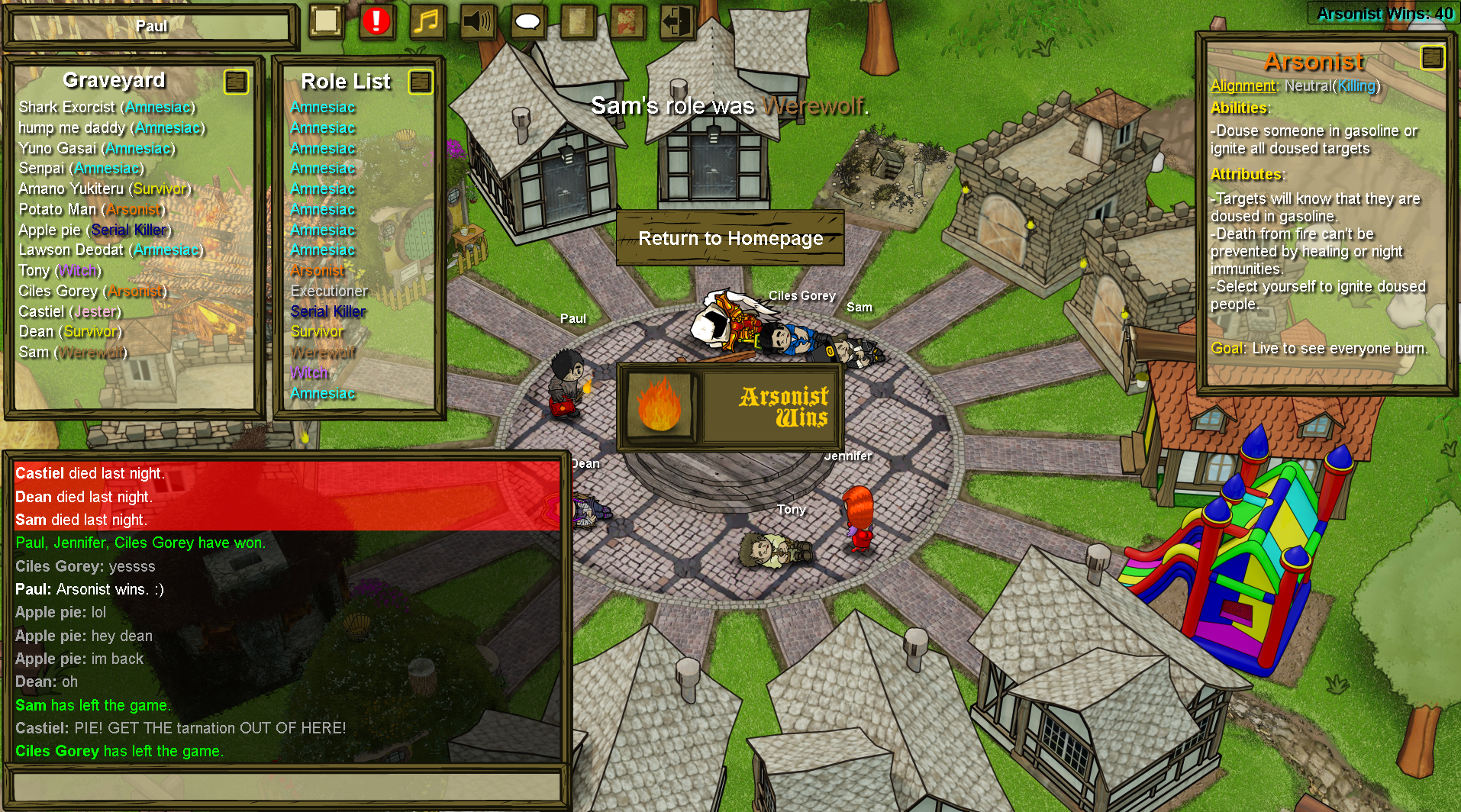 Town Of Salem Background