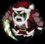 War-Torn Santa