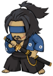 Crystal Samurai Pose