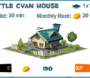 Little Cyan House